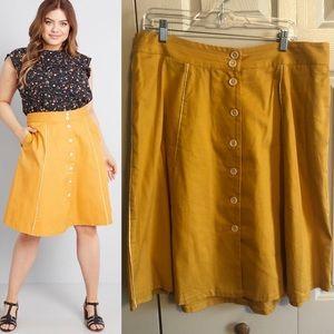 Modcloth Organized Style A-Line Skirt
